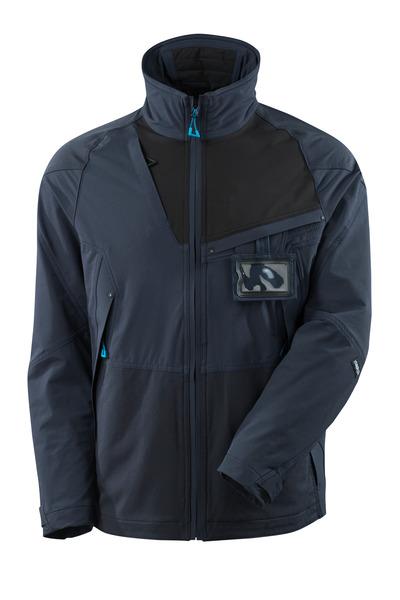 MASCOT® ADVANCED - dark navy/black - Jacket, four-way stretch, lightweight