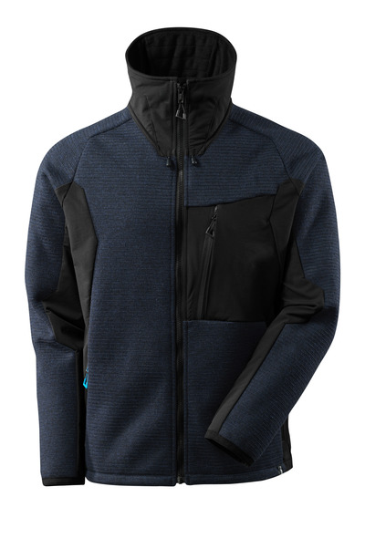 MASCOT® ADVANCED - dark navy/black - Knitted Jacket with membrane