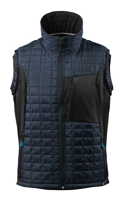 MASCOT® ADVANCED - dark navy/black - Winter Gilet with CLIMASCOT®, water-repellent