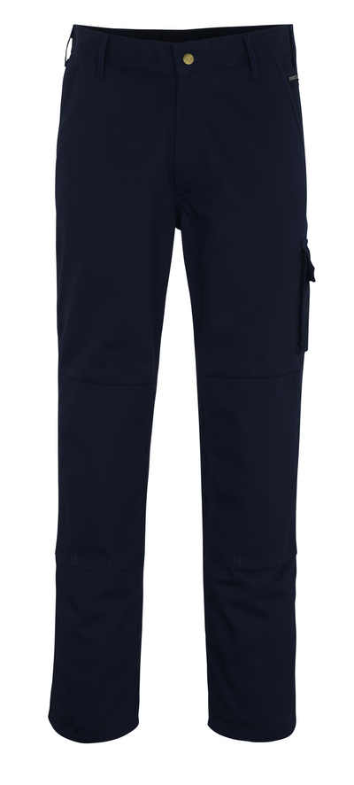 MASCOT® Albany - navy - Trousers with kneepad pockets, high durability