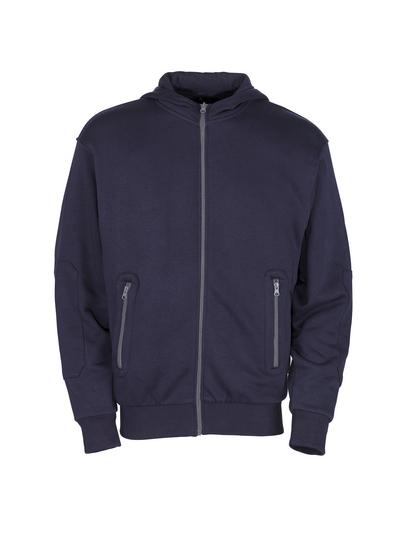 MASCOT® Altea - navy - Hoodie with zipper, modern fit