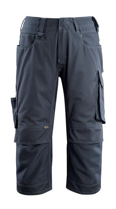 MASCOT® Altona - dark navy - ¾ Length Trousers with CORDURA® kneepad pockets, lightweight
