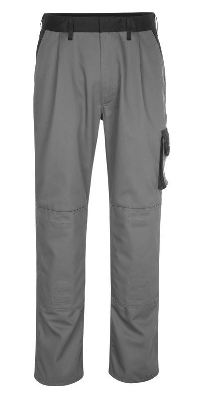 MASCOT® Ancona - anthracite/black - Trousers with kneepad pockets, lightweight