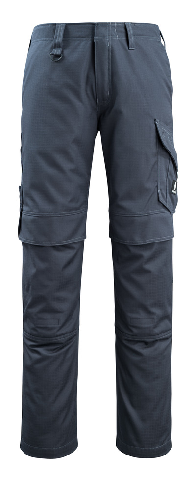 MASCOT® Arosa - dark navy - Trousers with kneepad pockets, dirt repellent, multi-protective