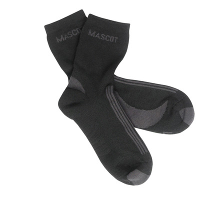 MASCOT® Asmara - black/dark anthracite - Socks, moisture wicking