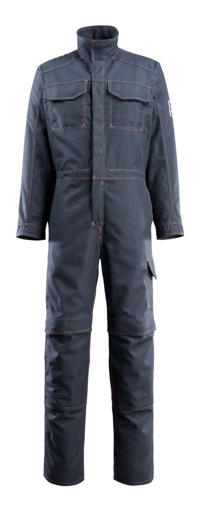 MASCOT® Baar - dark navy - Boilersuit with kneepad pockets, multi-protective