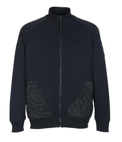 MASCOT® Belfort - dark navy* - Zipped Sweatshirt
