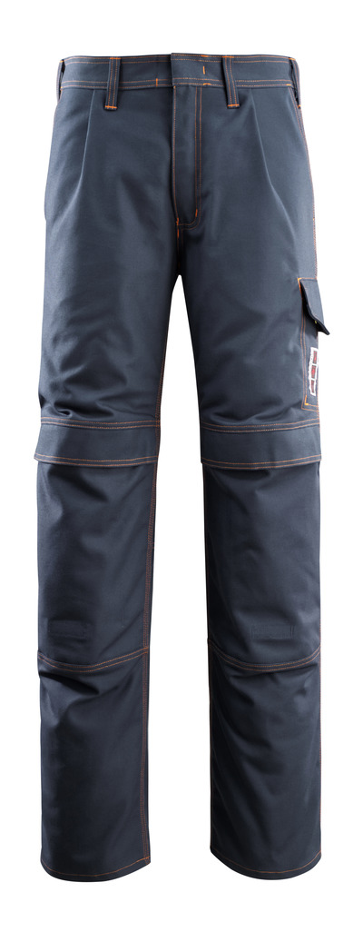 MASCOT® Bex - dark navy - Trousers with kneepad pockets, multi-protective