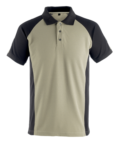 MASCOT® Bottrop - light khaki/black* - Polo Shirt