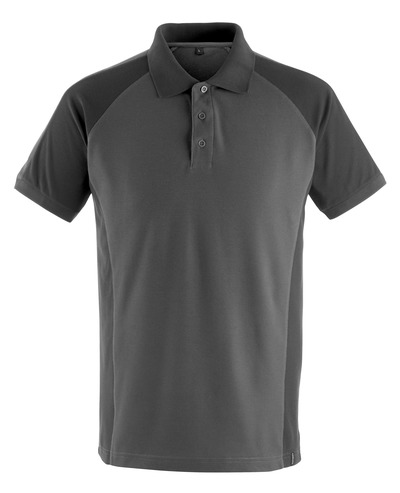 MASCOT® Bottrop - dark anthracite/black - Polo Shirt