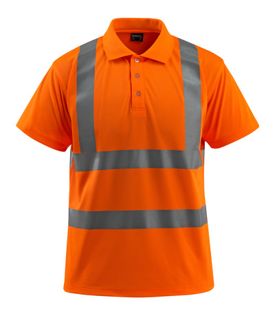 MASCOT® Bowen - hi-vis orange - Polo Shirt, classic fit, class 2