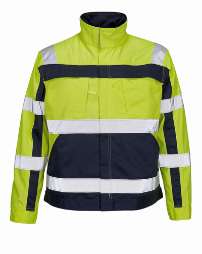 MASCOT® Cameta - hi-vis yellow/navy - Jacket, high durability, class 2