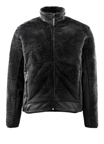 MASCOT® Campbell - black* - Knitted Jacket with zipper