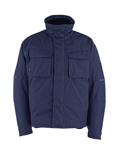 MASCOT® Columbus - dark navy - Winter Jacket with quilted lining, water-repellent