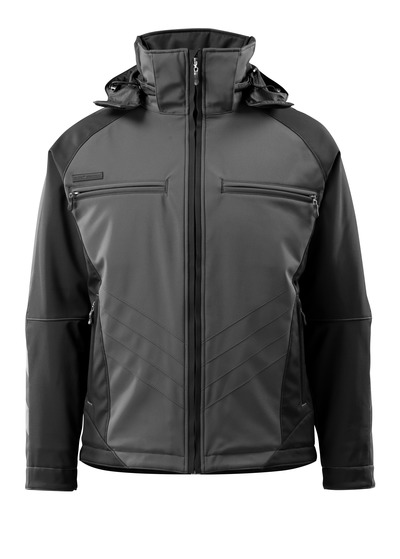 MASCOT® Darmstadt - dark anthracite/black - Winter Jacket, water-repellent, highly insulating