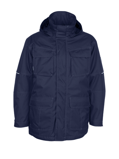 MASCOT® Dayton - dark navy - Parka with detachable pile lining, waterproof