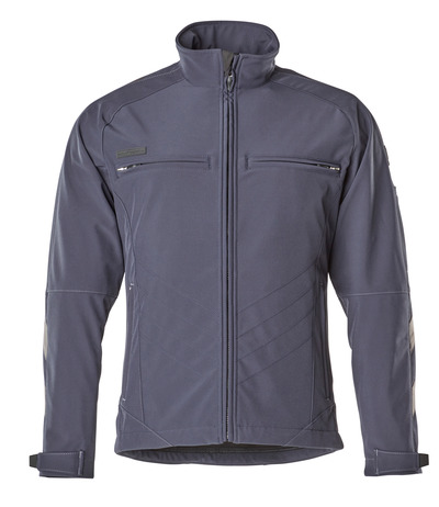 MASCOT® Dresden - dark navy - Softshell Jacket with fleece on inner side, water-repellent