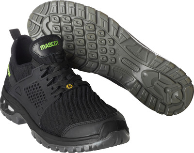 MASCOT® FOOTWEAR ENERGY - black - Safety shoe S1P with laces