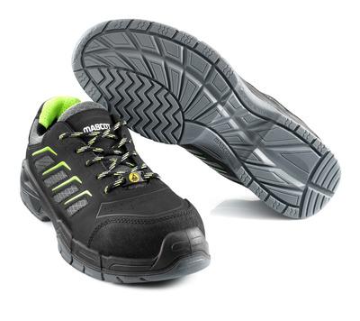 MASCOT® Fujiyama - black - Safety Shoe S1P with laces