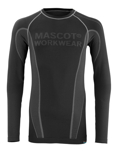 MASCOT® Hamar - black - Thermal Under Shirt