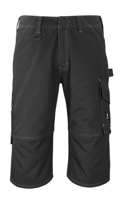 MASCOT® Hartford - black* - ¾ Length Trousers