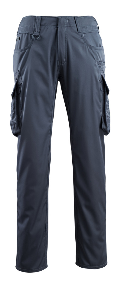 MASCOT® Ingolstadt - dark navy - Trousers with thigh pockets, extra lightweight