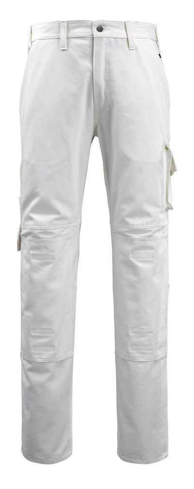 MACMICHAEL® Jardim - white - Trousers with kneepad pockets, cotton