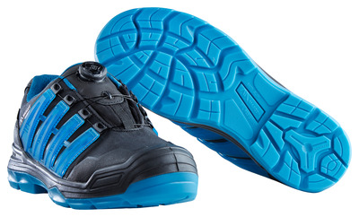 MASCOT® Kailash - black/petroleum - Safety Shoe S3 with Boa® closure