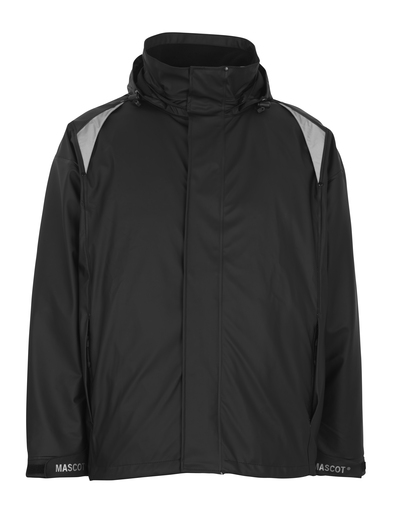 MASCOT® Lake - black - Rain Jacket