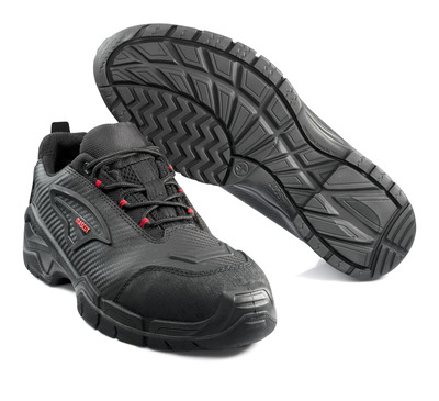 MASCOT® Langley - black/red* - Safety Shoe