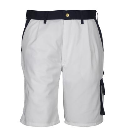 MASCOT® Lido - white/navy*/¹) - Shorts, high durability