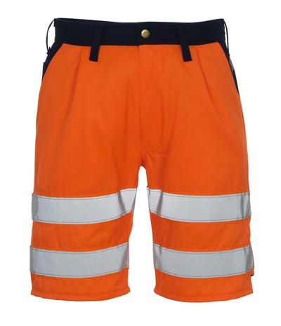 MASCOT® Lido - hi-vis orange/navy* - Shorts, class 1/2