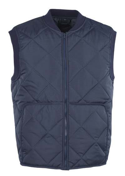 MASCOT® Liverpool - navy - Thermal Gilet with front pockets