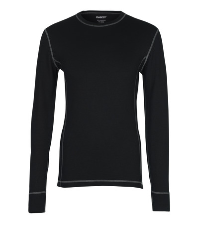 MASCOT® Logrono - black - Functional Under Shirt, moisture wicking, insulating