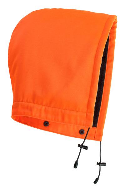 MASCOT® MacAllen - hi-vis orange - Hood with press studs and lining, water-repellent