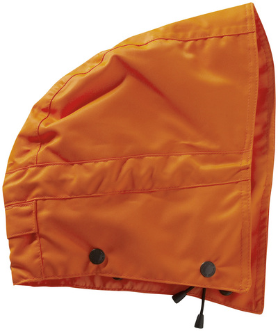 MASCOT® MacCall - hi-vis orange - Hood with press studs and lining, waterproof