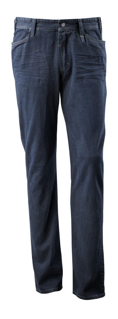 MASCOT® Manhattan - washed dark blue denim¹) - Jeans