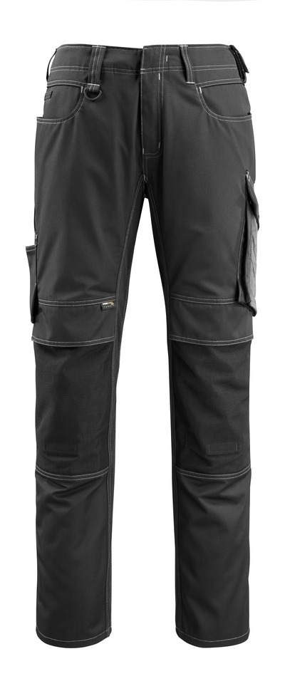 MASCOT® Mannheim - black/dark anthracite - Trousers