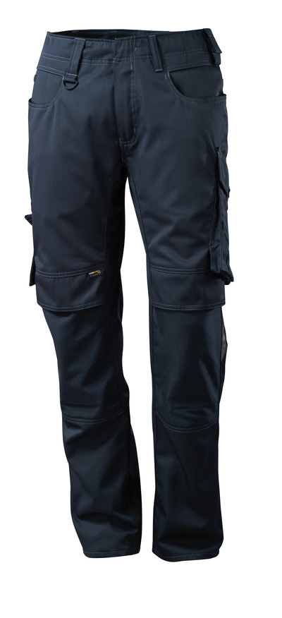MASCOT® Mannheim - dark navy - Trousers with CORDURA® kneepad pockets, lightweight