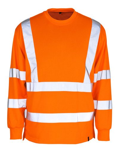 MASCOT® Melita - hi-vis orange - Sweatshirt, classic fit, class 3
