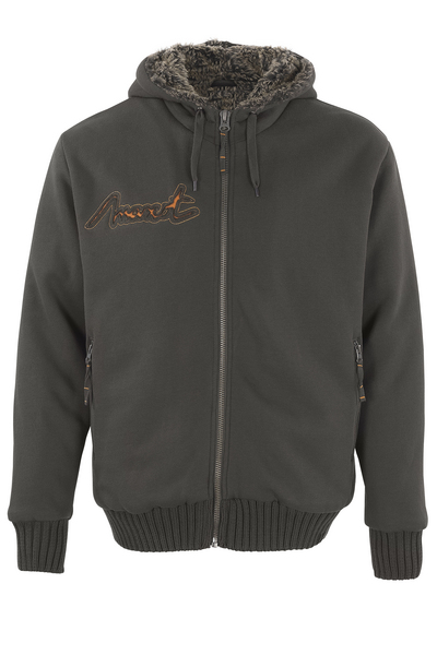 MASCOT® Monforte - dark anthracite* - Hoodie with zipper