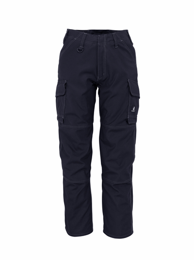 MASCOT® New Haven - dark navy - Trousers with thigh pockets, lightweight