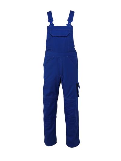 MASCOT® Omaha - royal - Bib & Brace with kneepad pockets, high durability