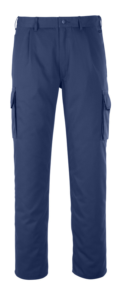 MASCOT® Orlando - navy - Trousers with thigh pocket, high durability
