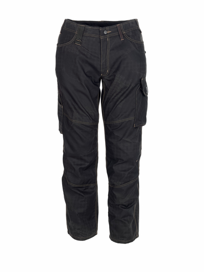 MASCOT® Ovar - black with print* - Trousers