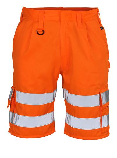 MASCOT® Pisa - hi-vis orange - Shorts, class 1
