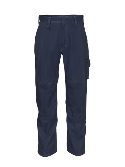 MASCOT® Pittsburgh - dark navy - Trousers with kneepad pockets, lightweight
