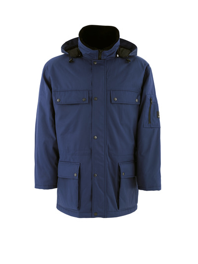 MASCOT® Quebec - navy - Parka with quilted lining, water-repellent Bearnylon®