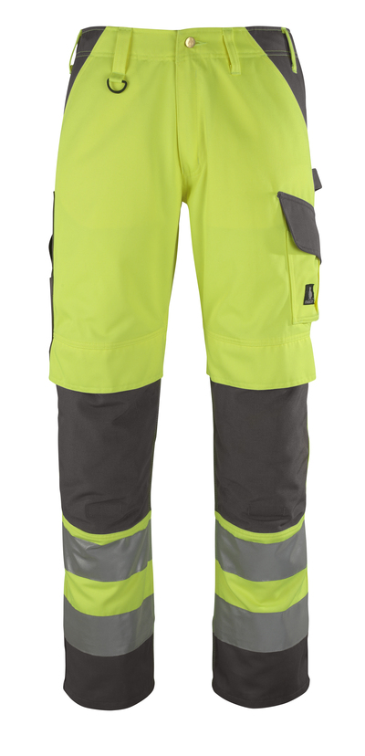 MASCOT® Redondo - hi-vis yellow/anthracite* - Trousers with kneepad pockets