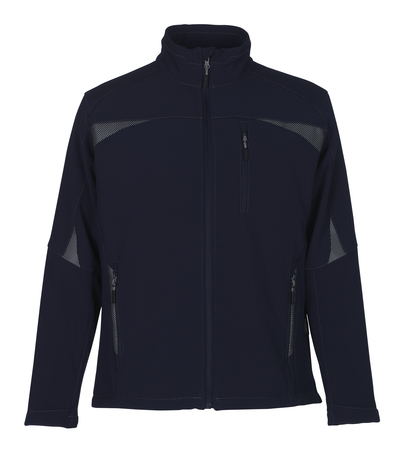 MASCOT® Ripoll - navy - Softshell Jacket with fleece on inner side